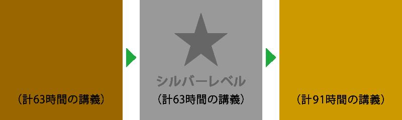 RPTM Japan認定コース レベル(初級・中級・上級)