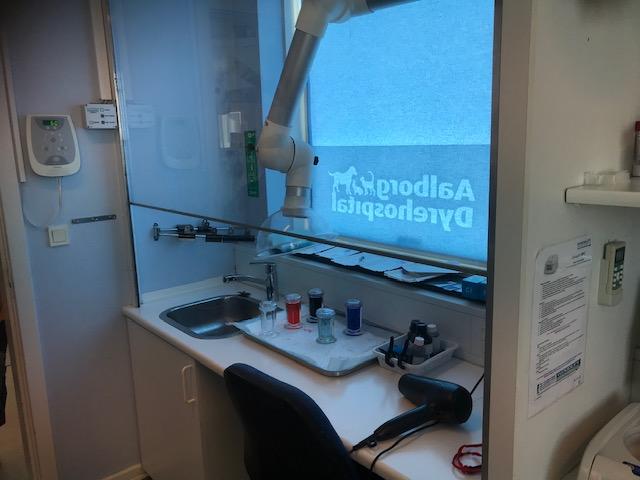 院内ですべての検査を行える設備が備わっています。
